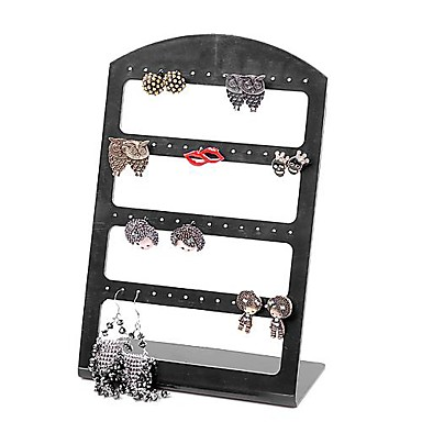 48 Holes  Plastic Jewelry  Display For Earrings