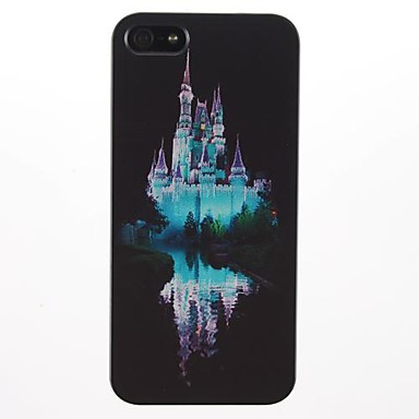 Castle and the Reflection Pattern PC Hard Case for iPhone 5/5S