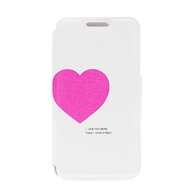 Kinston Love for You Pattern PU Leather Full Body Case with Stand for Motorala Moto G