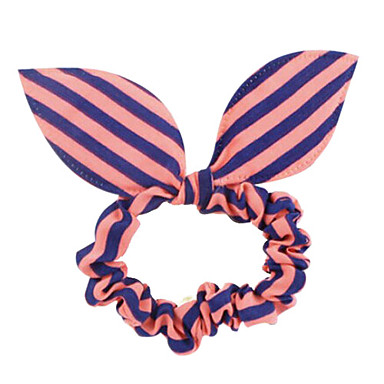 5 Pcs Stylish Hair Band With Butterfly Knot