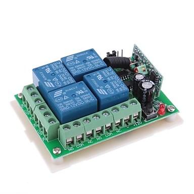 12v 4 canaux sans fil distance module relais de puissance dc28v ac250v de 1636357 2017. Black Bedroom Furniture Sets. Home Design Ideas