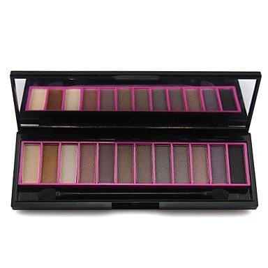 naras professionnel 12 couleurs palette de maquillage mat miroitement de fard paupi res. Black Bedroom Furniture Sets. Home Design Ideas