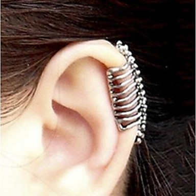 Ear Cuffs Alloy Skull / Skeleton Jewelry Party Halloween Daily Casual