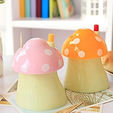Plastic mushrooms pop up automatically toothpick holder random color 1770610 2017 - Pop up toothpick dispenser ...