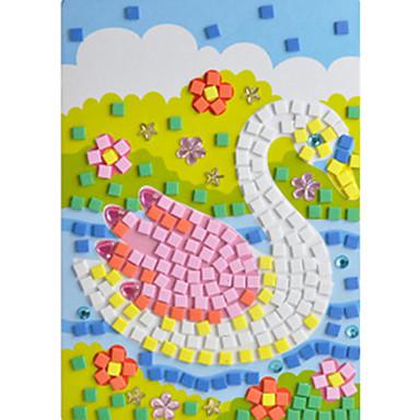 Eva cristallo mosaico adesivi 3d mano dei bambini - Mosaico per esterno fai da te ...