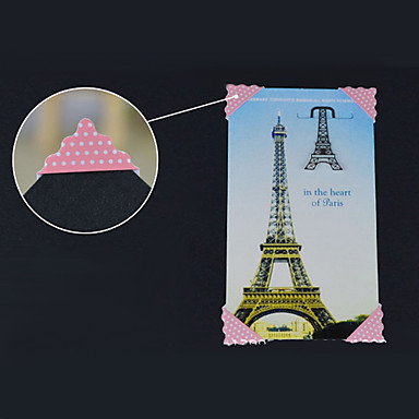 Pink Dot Pattern Cartoon DIY Photo Corner Protector Sticker(78 Stickers/PCS)