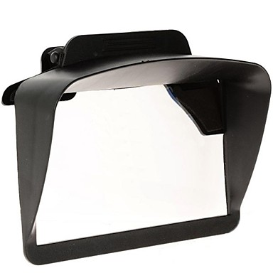 "Universal Plastic Sun Shade Visor for 4.3"" 5"" Inch Car GPS Navigators"