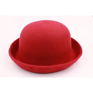 edizione del han cupola delle donne per ristabilire piccolo cappello di lana vino di riso rosso ...
