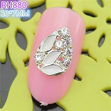 10st rh880 speciale ontwerp luxe strass 3d legering nail art diy nagel schoonheid nagel - Decoratie murale ontwerp salon ...