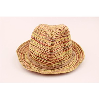 p.509,36 Unisex's Ms 7 Colour Sir Flax Straw Hat