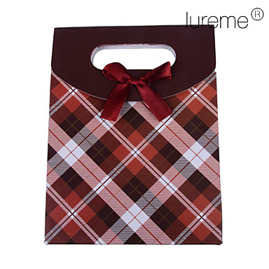 Lureme®Paper Made Red Gift Box