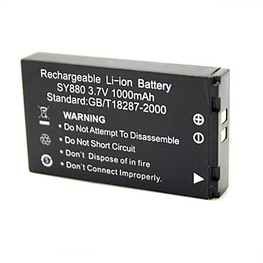 Replacement 3.7V 1000mAh Battery for Sport Camera WDV5000 / G386