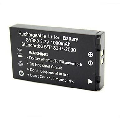 Замена 3.7V 1000mAh аккумулятор для спорта камера WDV5000 / G386