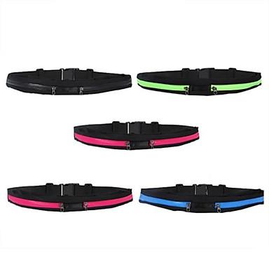 Bike BagBelt Pouch/Belt BagQuick Dry / Rain-Proof / Waterproof Zipper / Dust Proof / Moistureproof / Skidproof / Shockproof / Wearable /