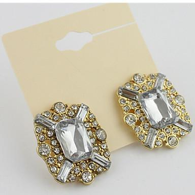 Мода сверкающих Алмазный Earrings1Pair