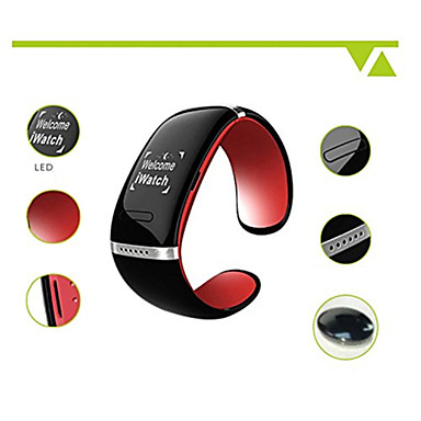 L12S Смарт Bluetooth V3.0 браслет Часы плеера Ответ на вызов (ассорти цветов)