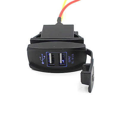 car truck boat accessory 12v 24v dual usb charger power adapter outlet nice 3233519 2017. Black Bedroom Furniture Sets. Home Design Ideas