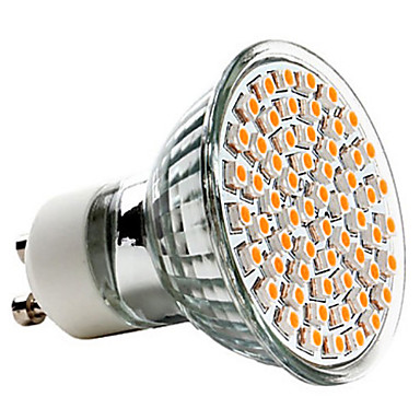3W GU10 LED Spotlight MR16 60 SMD 3528 240 lm Warm White AC 220-240 V