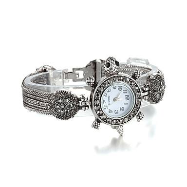 Sjeweler Girls Female Kids Gunmetal Tortoise Bracelet Watch