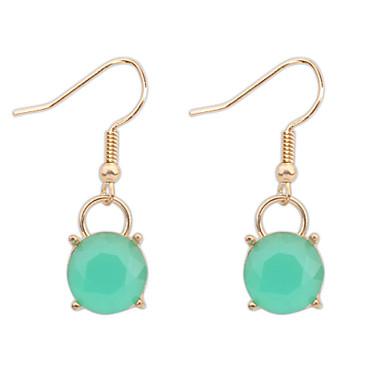 Simple Diamond Alloy/Resin Drop Earrings Wedding/Party ...