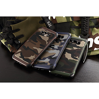Samsung Galaxy Case Shockproof Back Cover Camouflage Color PC A8 / A7 A5