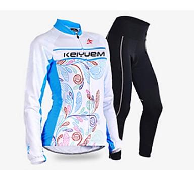 KEIYUEMOthers Frauen Langarm Frühling / Herbst Fahrradbekleidung Sets / Suits TightsWaterproof / atmungsaktiv