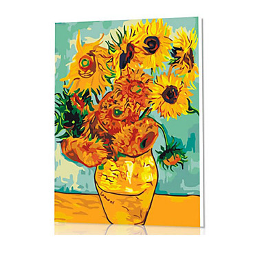 Diy num rique peinture l 39 huile famille de ch ssis peinture amusant tout seul van gogh x5060 - Peinture a l huile van gogh ...
