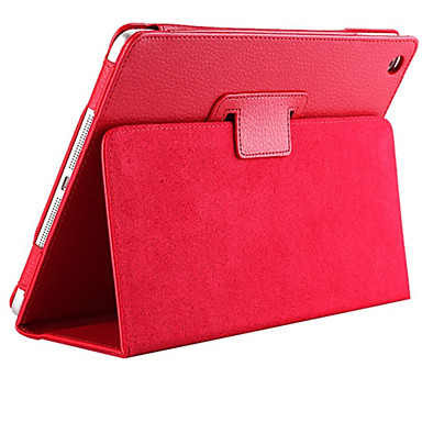 Litchi PU Leather Cover for iPad