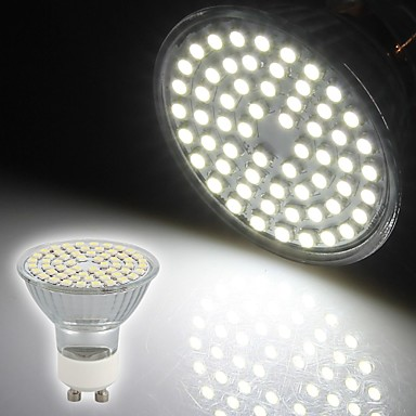 Faretti LED 60 SMD 3528 OEM Modifica per attacco al soffitto GU10 3W Decorati...