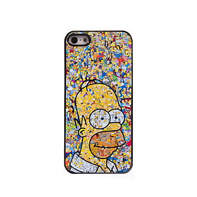 Cartoon Pattern Aluminum Hard Case iPhone 5/5S