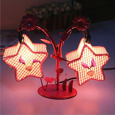 Kreative to pentagram lampe soverom nattbordlampe belysning lamper ...
