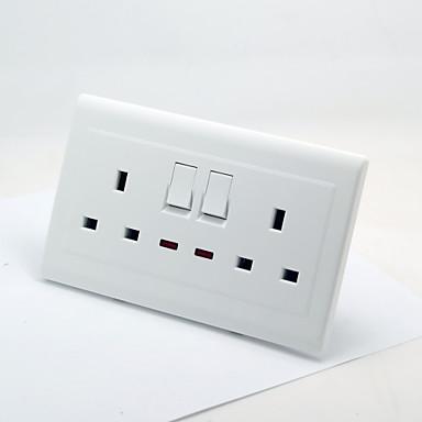 Blanco puro cl sico con toma de interruptor de la luz - Interruptores y enchufes ...