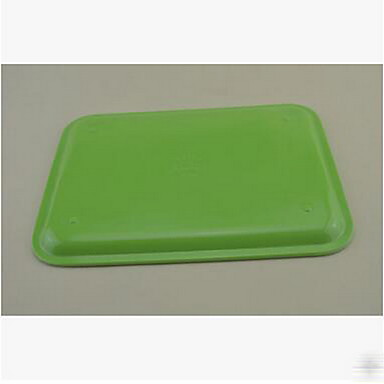 Hotel Restaurant Rectangular Cups Bread Snack Tray Plastic Tray Color Duancai
