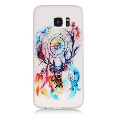 TPU material Campanula Deer Pattern Luminous Phone Case Galaxy S7Edge/S7/S6Edge Plus/S6Edge/S6/S5/S4 Mini/S3