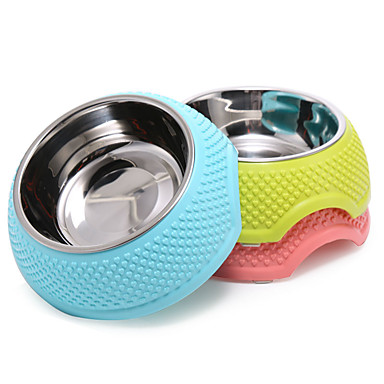 2017 Pet water bowl easy to clean dog food bowl cat food bowl lovely modelling pet supplies