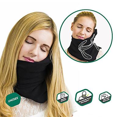 Travel Pillow Travel Rest Travel machine washable / Foldable / Portable / Comfortable Cotton / Fleece