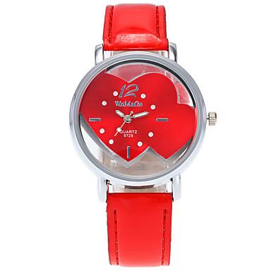 Women's Fashion Wrist Quartz Personality Simple Originality Watch Cool Casual Unqiue Heart Shape Watches