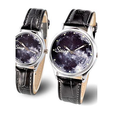 Hot Lovers Luminous Quartz Watch Women Watches Ldaies Brand Star Sky Wrist Men's Clock Quartz-watch Relogio Feminino