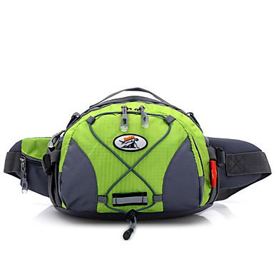 5 L Waist Bag/Waistpack Camping & Hiking Fishing Traveling Outdoor Multifunctional Yellow Nylon