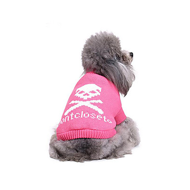 Dog Sweater Dog Clothes Casual/Daily Skulls