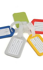 """Etiqueta para MalaForAcessório de Bagagem Plástico 3.54""""*2""""*0.2""""(9cm*5cm*0.5cm)"""