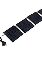 vikbara sol laddare för mobiltelefoner