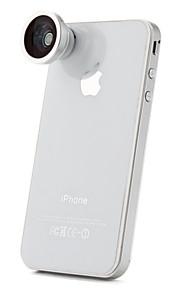 180 olho de peixe grau / lente macro super grande angular para celular iphone, ipad e outros