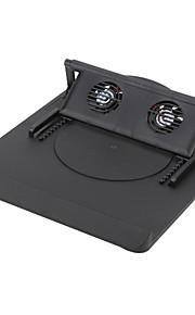 dual ajustable del ventilador Notebook Cooler