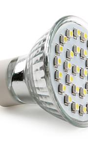 GU10 LED-spotpærer MR16 30 SMD 3528 90 lm Naturlig hvit AC 220-240 V