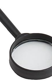 Magnifier borda 10x 50 milímetros preta