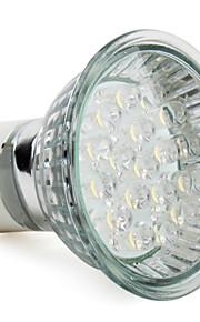 2W GU10 LED-spotpærer MR16 18 Høyeffekts-LED 90 lm Varm hvit AC 220-240 V