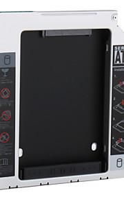 SATA zu SATA HDD 2. Wechselrahmen für 12.7mm Universal CD / DVD-ROM