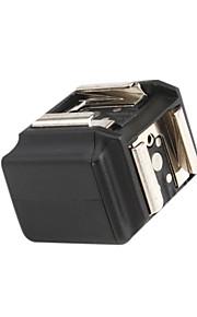 PR02 estúdio disparador de flash pc 3,5 mm para adaptador de sapata dupla quente