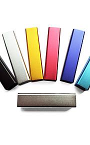 Stilfuld 2400mAh Ekstern Batteri Til iPhone, Cellphone, MP3 etc.(Tilfældige Farver)